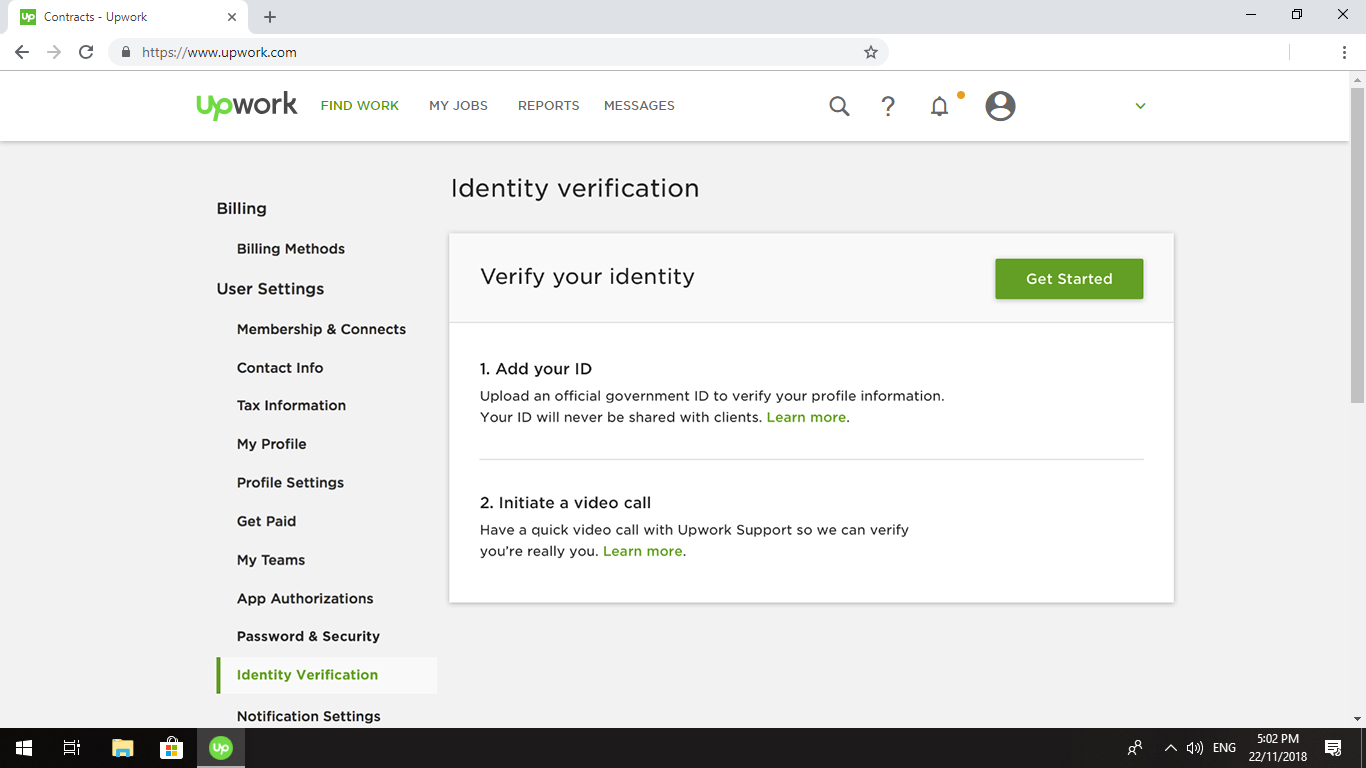 ID Verification Badge – Upwork Help Center