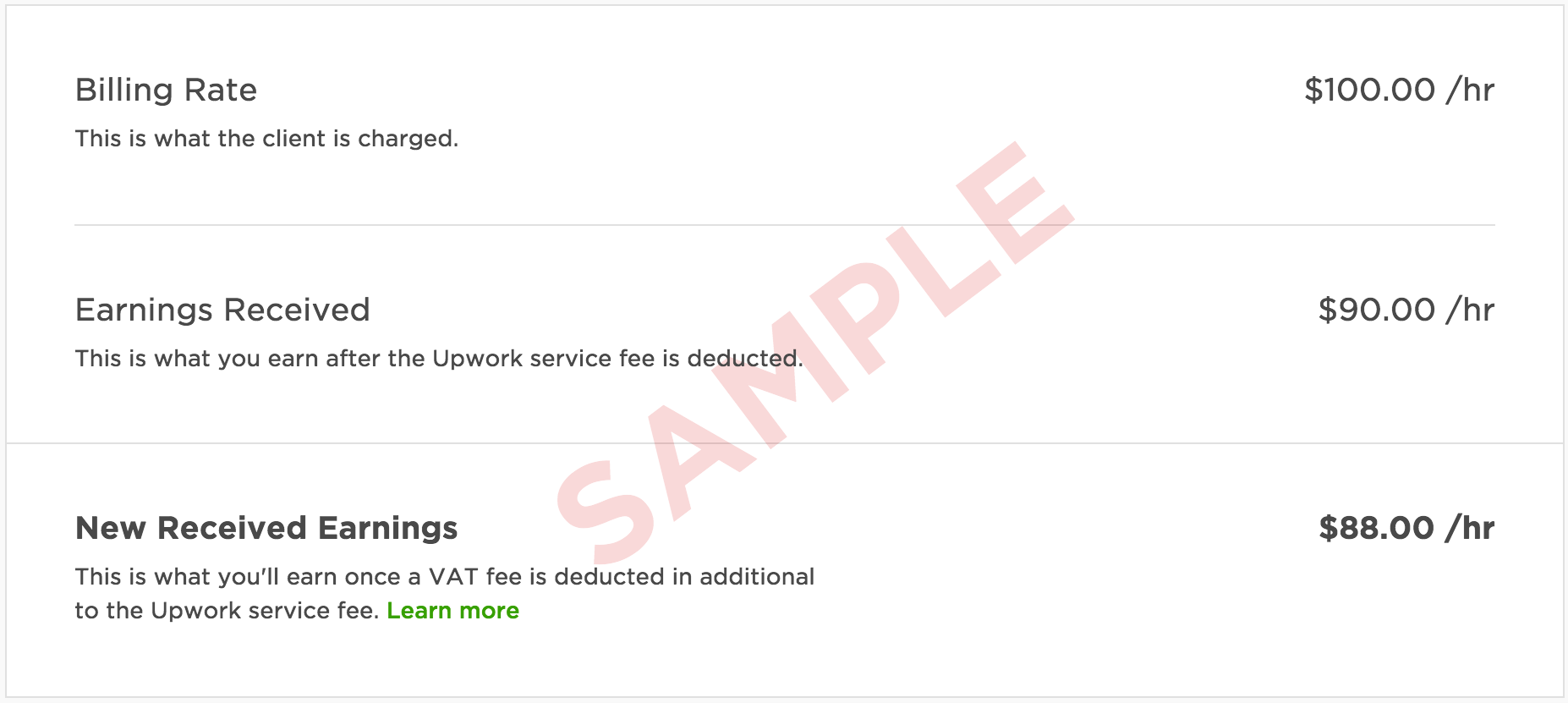 upwork help how to receive payment